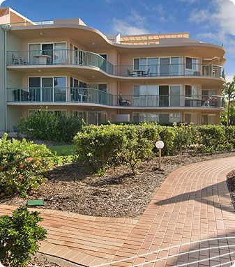 Surfside on the Beach Holiday Apartments - Sunshine Coast ...